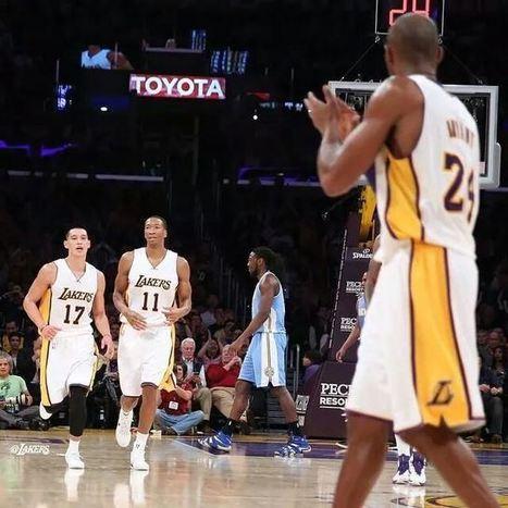 【心得】Kobe Time不厲害  延長賽輸比賽   湖人94比101遭金塊砸昏 | 激勵感人 | Scoop.it