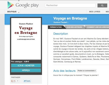 L'ebookstore de Google play n'en ferait qu'à sa tête ? | D2A 2012-2013 | Scoop.it