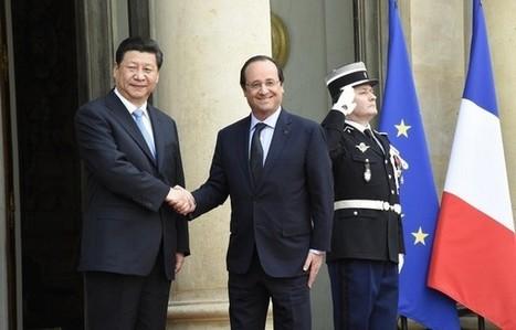 Un livre sur les relations diplomatiques entre la Chine et la France   50e anniversaire de l'établissement des relations diplomatiques entre la France et la République populaire de Chine   Scoop.it