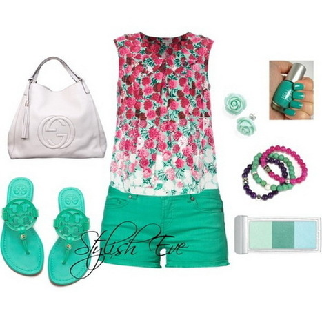 Spring/ Summer 2013 Outfits with Shorts for Women by Stylish Eve | stylish women | Scoop.it