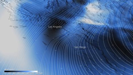 NOAA Environmental Visualization Laboratory - Santa Ana Winds Pummel Southern California | Geography Education | Scoop.it