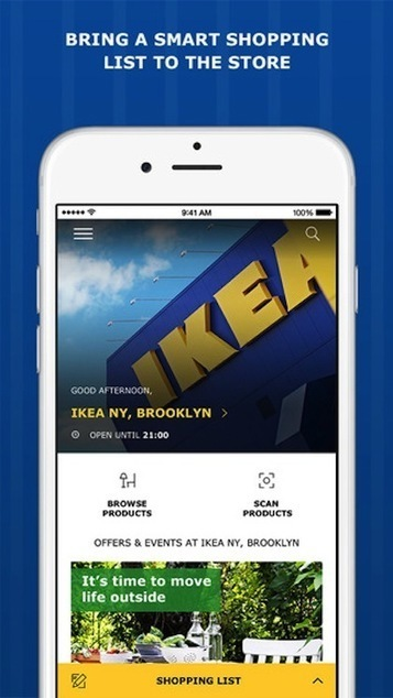 IKEA tests in-store mobile checkout, building multichannel innovation - Mobile Commerce Daily - Applications | The Omnichannel Marketing Spectator | Scoop.it
