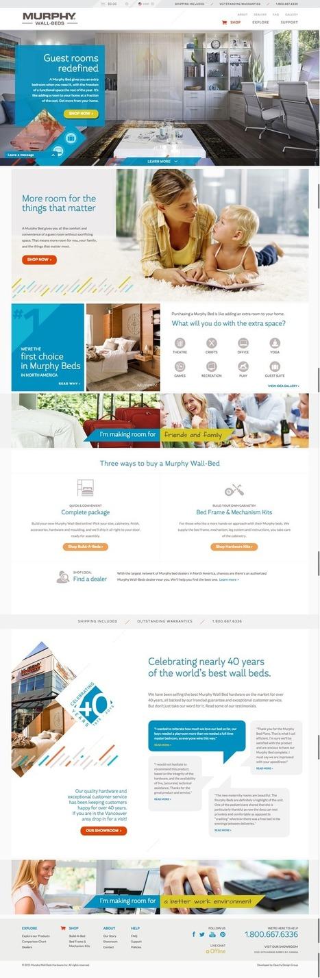 6 conseils pour optimiser la page d'accueil de votre site web | e-commerce BtoB & BtoC | Scoop.it