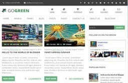 New Magazine Style Excellent Template Design for Blogger | Best Wordpress Plugins | Scoop.it