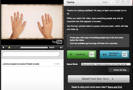 Subtitula tus vídeos con Amara | Nuevas tecnologías aplicadas a la educación | Educa con TIC | FOTOTECA INFANTIL | Scoop.it
