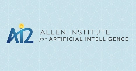 Papers — Allen Institute for Artificial Intelligence | Data is big | Scoop.it