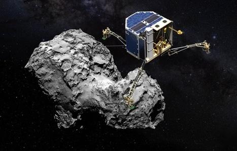 Espace: En ratant son atterrissage, Philae a fait faire un bond à la science | Beyond the cave wall | Scoop.it