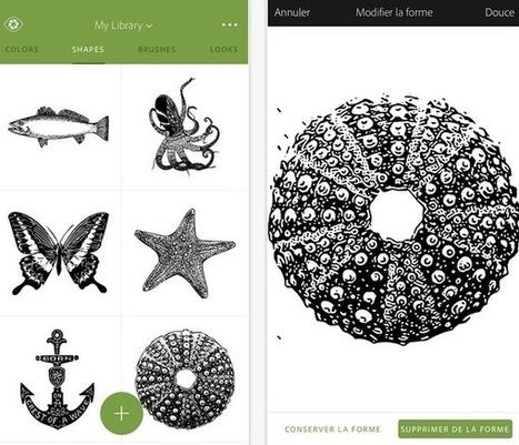 Adobe lance Photoshop Fix et Capture CC sur l'App Store | Actualités technopédagogiques | Scoop.it