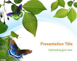 Free Springtime PowerPoint Template | Free Powerpoint Templates | nam | Scoop.it