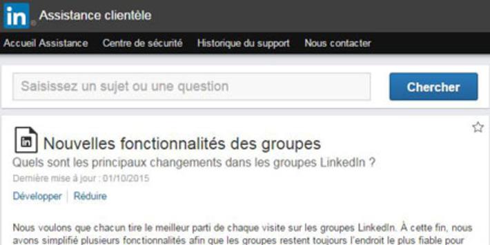 Nouveautés LinkedIn : tous les groupes deviennent privés et ont leur application dédiée | Solutions locales | Scoop.it