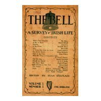 'The Bell' Magazine and the Representation of Irish Identity, by Kelly Matthews -Reviewed by John Montague   The Irish Literary Times   Scoop.it