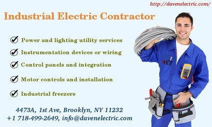 New York Industrial Electricians - Daven Electric | Daven Electric Inc - A NYC Electrician | Scoop.it