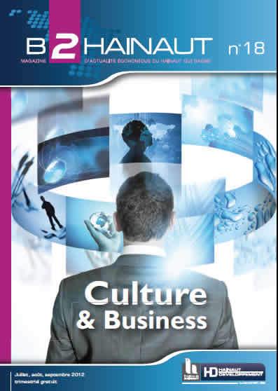 le Nouveau B2HAINAUT su la CULTURE & Business est en ligne | Dialogue Hainaut | Scoop.it