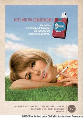 Tabac : une asso mise sur l'humour noir - Destination Santé | Ca m'interpelle... | Scoop.it