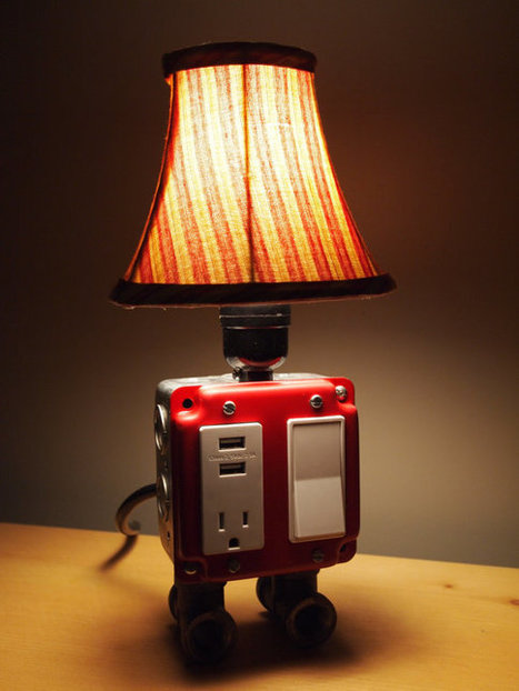 A USB charging station lamp | Tech-o-Gadgets | Scoop.it