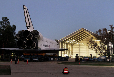 Time-lapse video: Space shuttle Endeavour's trek across L.A. - Framework - Photos and Video - Visual Storytelling from the Los Angeles Times | City of Inglewood California | Scoop.it