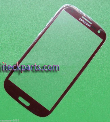Red Outer Touch Glass Screen Replacement for Samsung Galaxy S3 I9300 | iteckparts hot gadgets | Scoop.it