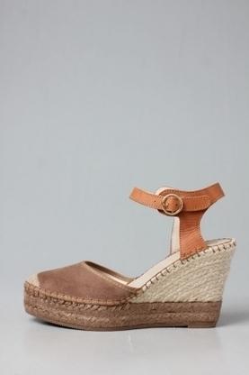 The Tilo Combi Brown Espadrilles Wedges - New Arrivals | Vintage and Retro Style | Scoop.it