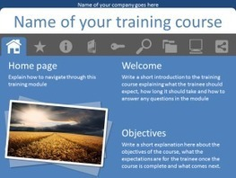 Non-linear training using Action buttons and Tabs in PowerPoint   User Friendly   Scoop.it