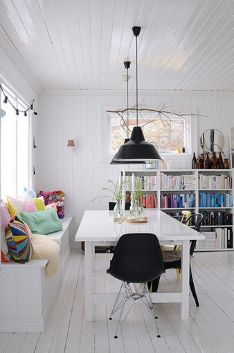 Interior design ideas: A whiter shade of pale - in pictures - The Guardian | All Things Kitchen and Bath | Scoop.it