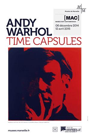 Andy Warhol. 8 Times capsules, à voir à Marseille | Passage & Marseille | franco-allemand | Scoop.it