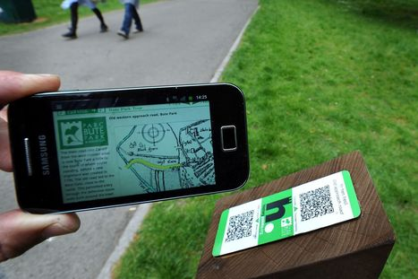 Bute Park's rich history bought to life by smartphone QR technology - WalesOnline | QR Code Business Card | Scoop.it