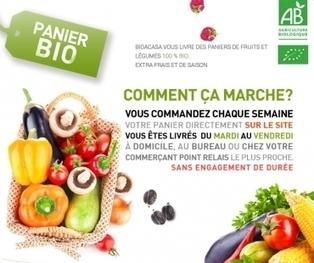 Bio A Casa : des paniers de fruits et légumes bio livrés sur Paris | Des 4 coins du monde | Scoop.it