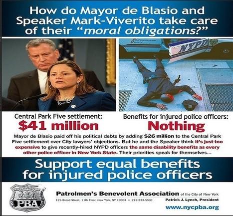 Funeral for fallen cop: NYPD asks New Yorkers to dump Mayor de Blasio   Criminal Justice in America   Scoop.it