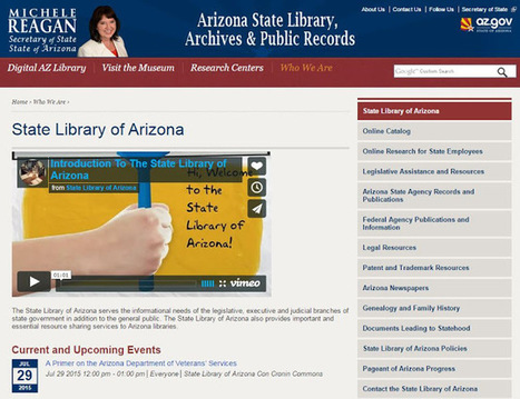 UpFront with NGS: URGENT! -- Arizona State Genealogy Library in jeopardy | Researching Genealogy Online | Scoop.it