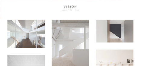 Vision Tumblr Theme by blink and it's over   Design & Textiles   Scoop.it
