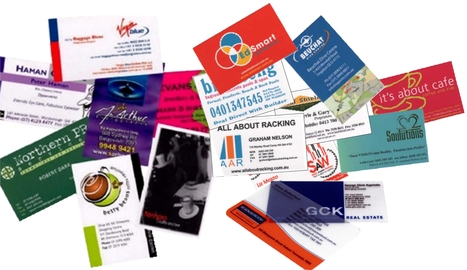 Business Cards by Excell | Facebook | Excell Printing Portfolio | Scoop.it