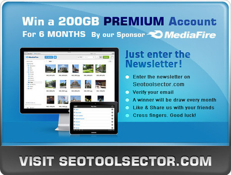 MediaFire Giveaway | The Best SEO Tools | Scoop.it