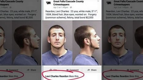 Montana man arrested after 'liking' his most wanted poster on Facebook!!! | Facebook - the cultural phenomenon | Scoop.it