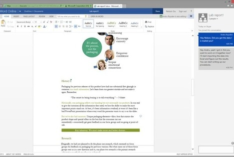 Microsoft is bringing chat to its Word and PowerPoint web apps | Future of Cloud Computing and IoT | Scoop.it