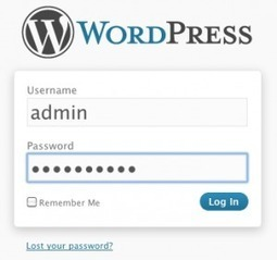 6 WordPress Security Tips for Small Business - SnappyGeek | Digital Marketing & Small Business | Scoop.it