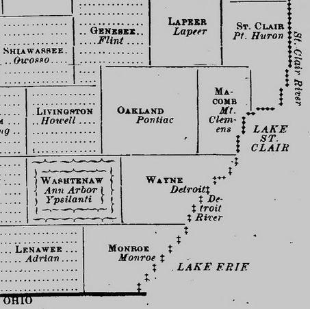 Typeset infographics from 1888 about Michigan alcohol... | ASCII Art | Scoop.it