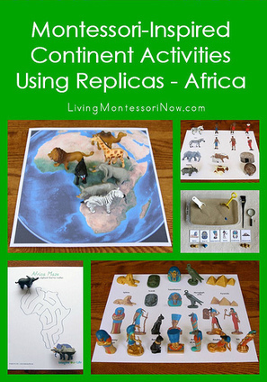 Montessori Monday: Montessori-Inspired Continent Activities Using Replicas – Africa | Montessori Inspired | Scoop.it
