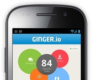 Ginger.io is a behavioral analytics platform that turns mobile data into health insights
