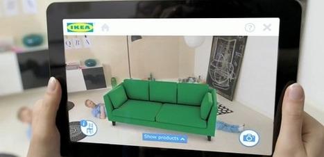 IKEA, visualisez vos meubles directement chez vous [Vidéo] | Communication | Scoop.it