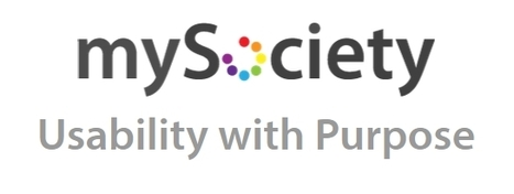 mySociety | Usability with Purpose | TIG | Scoop.it