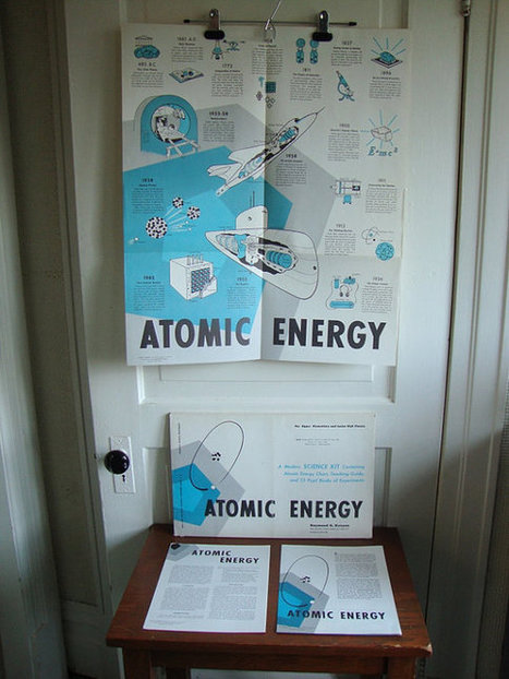 Vintage 1959 Atomic Energy Poster Educational by QuiteFrankie   Atomic Energy Research   Scoop.it