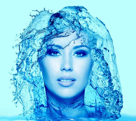 Give a Water Effect to Your Portrait Photos  in Photoshop   The Official Photoshop Roadmap Journal   Scoop.it