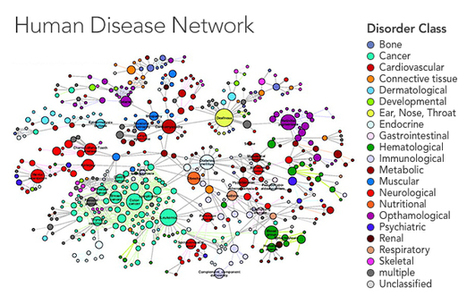 Networks Reveal the Connections of Disease |  Quanta Magazine | Bits 'n Pieces on Big Data | Scoop.it