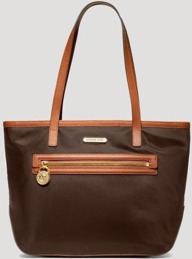 Review Tas Branded Wanita Terbaru: Tas Michael Kors Kempton nylon ew tote-coffee | Tas Wanita Cantik | Scoop.it