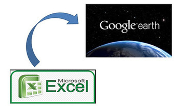 Geoinformación: Como crear un archivo KML de Google Earth desde un archivo de Excel | #GoogleEarth | Scoop.it