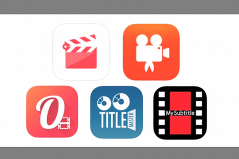5 iOS apps for adding subtitles to your social media news packages | Film and language teaching and learning | Scoop.it