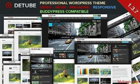 deTube 1.3.7 Professional Video WordPress Theme - Download Free Nulled Scripts | Socialbox.ro | Scoop.it