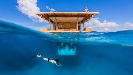 Insolite. D'incroyables hôtels avec vue... sous mer ! | camping l'orée de l'océan vendée | Scoop.it