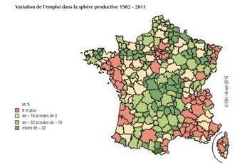 Trente ans de mutations fonctionnelles de l'emploi dans les territoires - Insee | Economie agricole de Midi-Pyrénées | Scoop.it