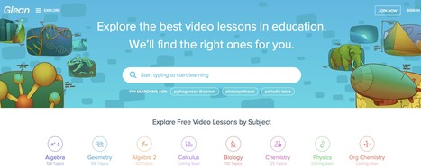Glean — Find the best videos in education for you | MI apps | Scoop.it